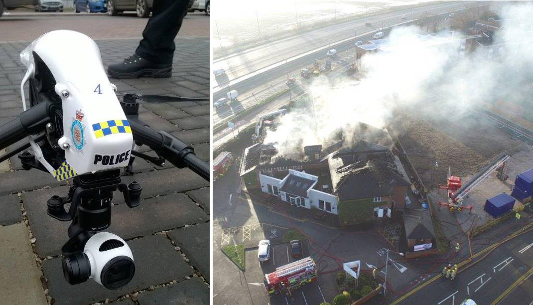 North Wales Police launch drone unit