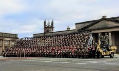 Historic military parade takes place in Chester city centre today