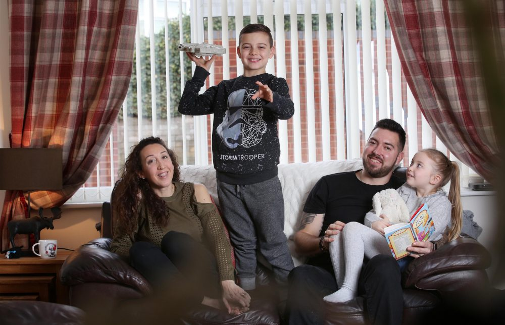 Husband and wife undergraduates from Flintshire back new student finance support package