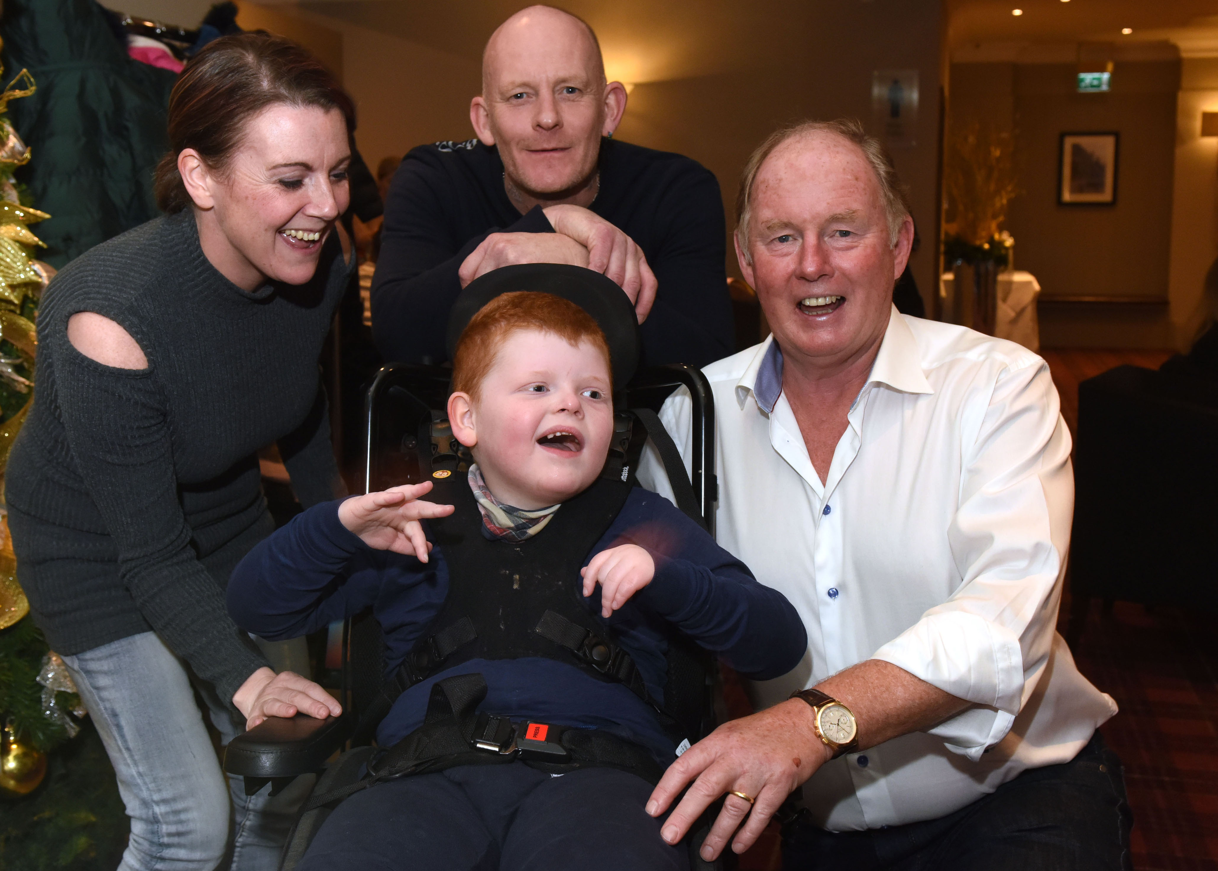 """New state-of-the-art wheelchair has """"enriched""""the life of Shotton youngster  Thanks to a donation from Steve Morgan Foundation's Enable programme"""