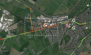 Saltney roadworks causing some delays
