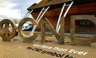 CND at 60: giant 'peace symbol' to visit Mold