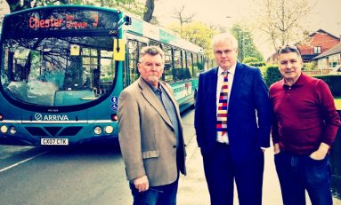 MP takes up angry Broughton residents concerns over bus timetable change