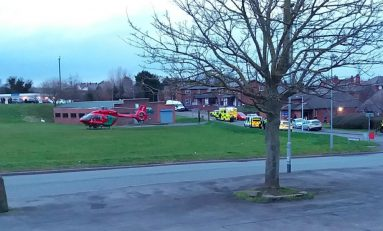 Man injured after being struck by a train in Connah's Quay