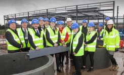 Connah's Quay High School modernisation reaches significant landmark