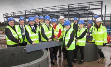 Connah's Quay High School modernisation reaches significant landmark