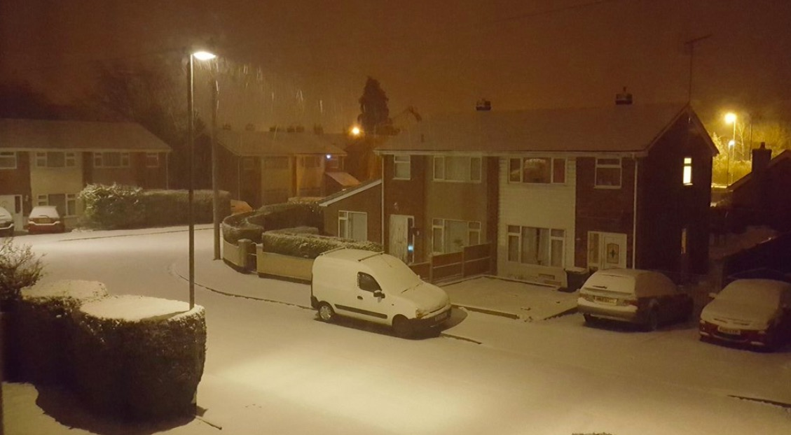 More snow and weather warnings as 'mini beast from the east' arrives