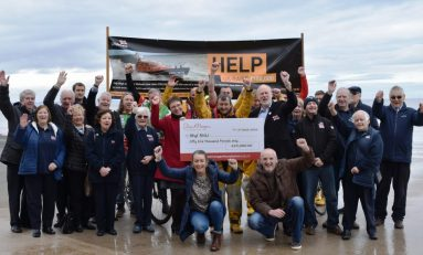 Foundation set up by founder of Deeside based Redrow hands Rhyl RNLI 'massive' donation for new Lifeboat fund