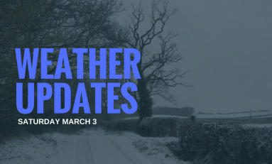 Saturday's winter weather update from Flintshire County Council
