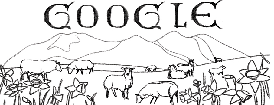 heres how google has celebrated the previous st davids days over the years