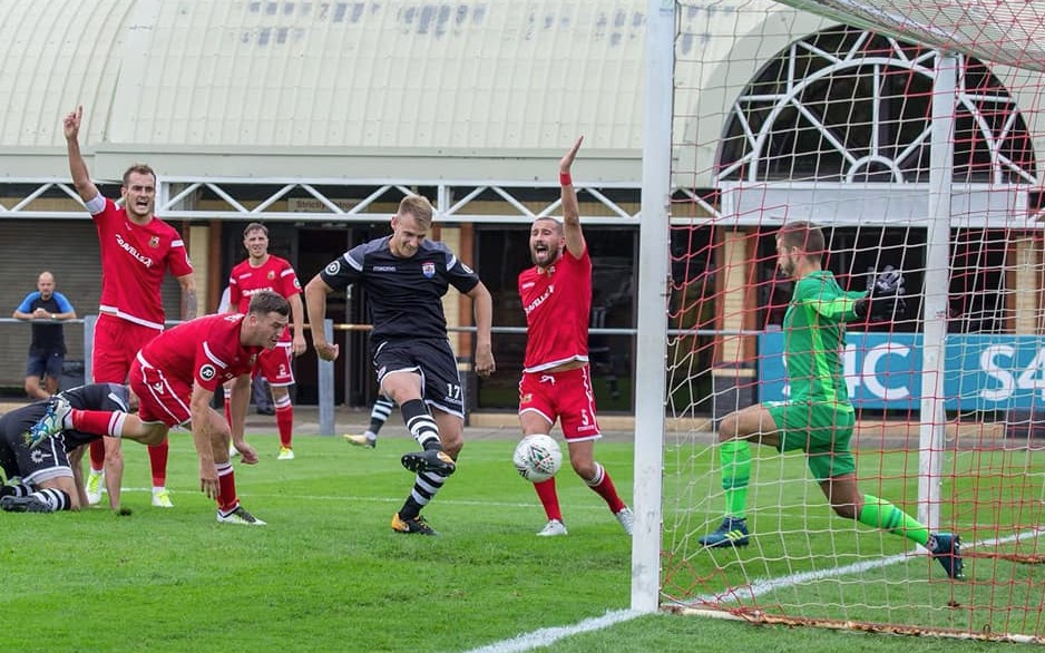 Hard work pays off for Nomads as they run riot at Llanelli