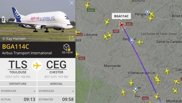 First Beluga set to land this morning as Hawarden Airport reopens following runway resurfacing work