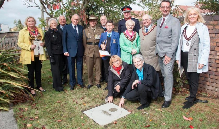 Commemoration for Buckley born Frederick Birks who was awarded the Victoria Cross during the First World War