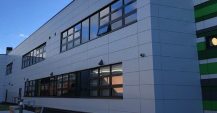 Connah's Quay High School closed due to a burst water pipe
