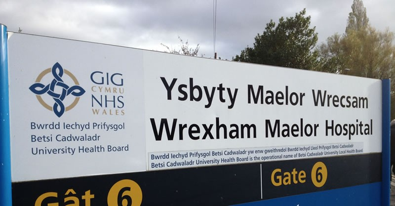 "ced61fb12b05 Wrexham Maelor's A&E waiting times worst in Wales- health board say January  saw ""significant increase in demand"""