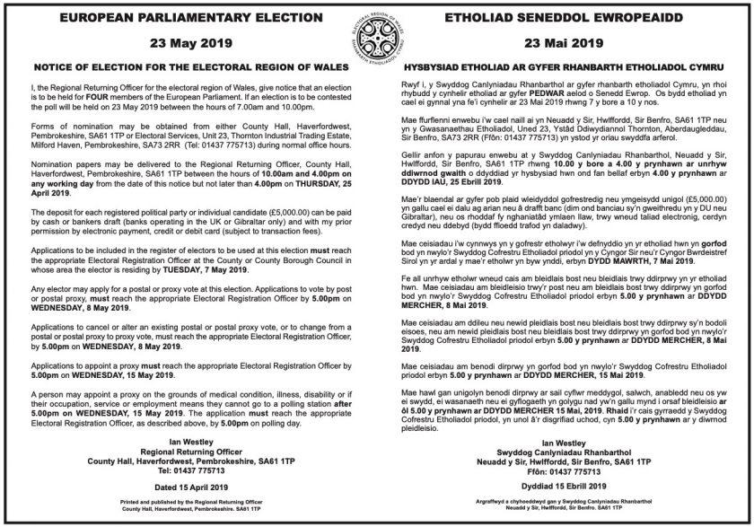 Flintshire Council prepares for European elections Deeside com