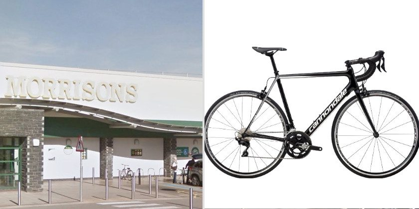 834ad98c239 Cannondale racing bike stolen from outside Morrisons in Saltney ...