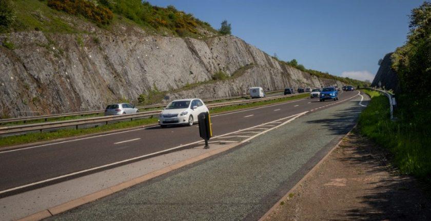 9700 people caught speeding through A55 average speed cameras at