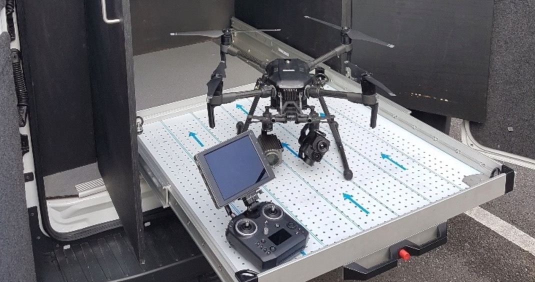 The police drone that was used