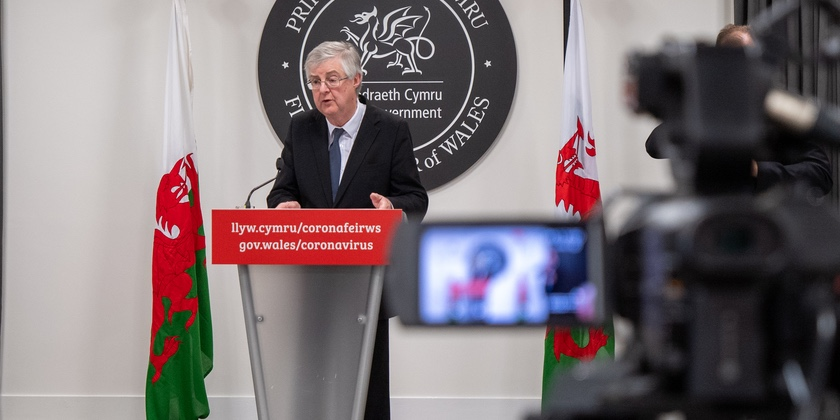 """Wales set for Alert Level Two on Monday – """"By sticking with the rules and our successful vaccine programme, we are making really good progress"""""""